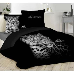 couette imprimee tigre achat vente couette imprimee. Black Bedroom Furniture Sets. Home Design Ideas