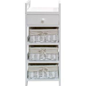 PETIT MEUBLE RANGEMENT  FIRENZA Petit meuble de salle de bain L 30 cm - La