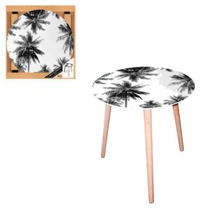 TABLE D'APPOINT Table d'appoint Palmiers
