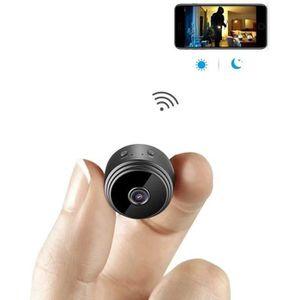 CAMÉRA MINIATURE Caméra Espion Cachée Cam Mini IP WiFi HD1080P Visi