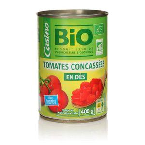 LÉGUMES & MÉLANGES Tomates pelées concentrées bio - 240g
