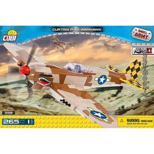 ASSEMBLAGE CONSTRUCTION Curtiss P-40 Warhawk Cobi