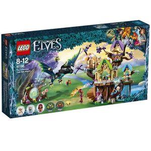 ASSEMBLAGE CONSTRUCTION LEGO® Elves 41196  Attaque de l'Arbre d'Elvenstar