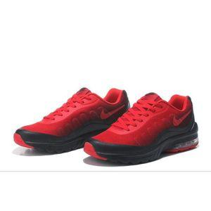 basket femme nike air max rouge