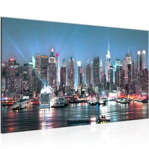 TABLEAU - TOILE Tableau decoration murale La ville de New York cm