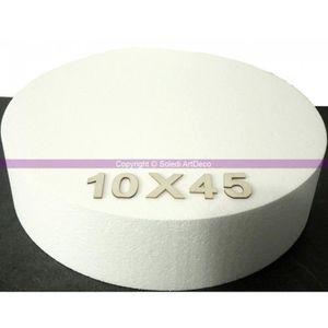 PLATEAU A ETAGE Disque polystyrène épaisseur 10 cm, 11 diam au cho