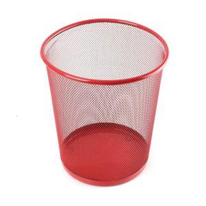 Pack de 9-5 cm cœur rouge boules-Brillant Mat /& Paillettes Design-PM358