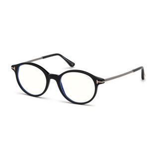 LUNETTES DE VUE Lunettes de Vue Tom Ford FT5554-B BLUE BLOCK BLACK