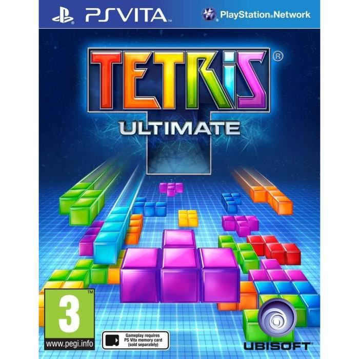 tetris jeu ps vita achat vente jeu ps vita tetris jeu ps vita cdiscount. Black Bedroom Furniture Sets. Home Design Ideas