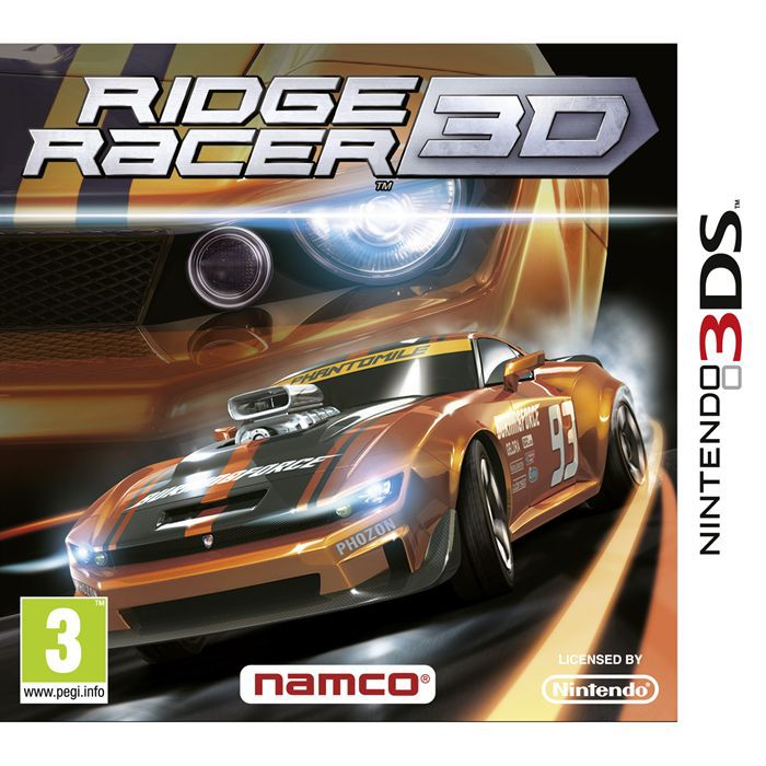ridge racer 3d jeu console 3ds achat vente jeu 3ds ridge racer 3d jeu 3ds cdiscount. Black Bedroom Furniture Sets. Home Design Ideas