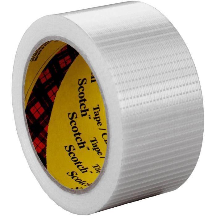 Scotch ruban adhésif aluminium largeur 48mm longueur 50m