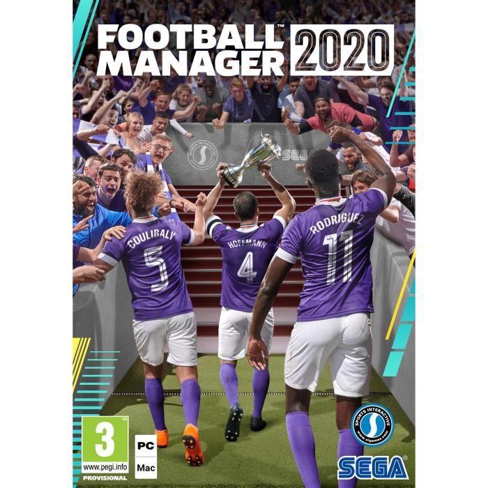 JEU PC Football Manager 2020 DigiPack D1 Edition Jeu PC
