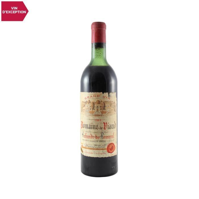 Domaine de Viaud Lalande-de-Pomerol Rouge 1964 - 75cl - Vin AOC Rouge de Bordeaux - Cépages Merlot, Cabernet Franc