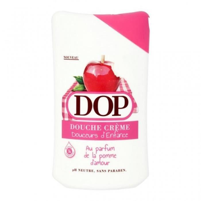 DOP Douche Crème Douceurs d'Enfance au Parfum de la Pomme d'Amour 250ml (lot de 4)