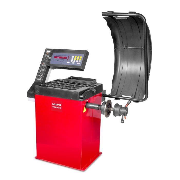 Équilibreuse pour roues jusque 65 kg MW-Tools BB200