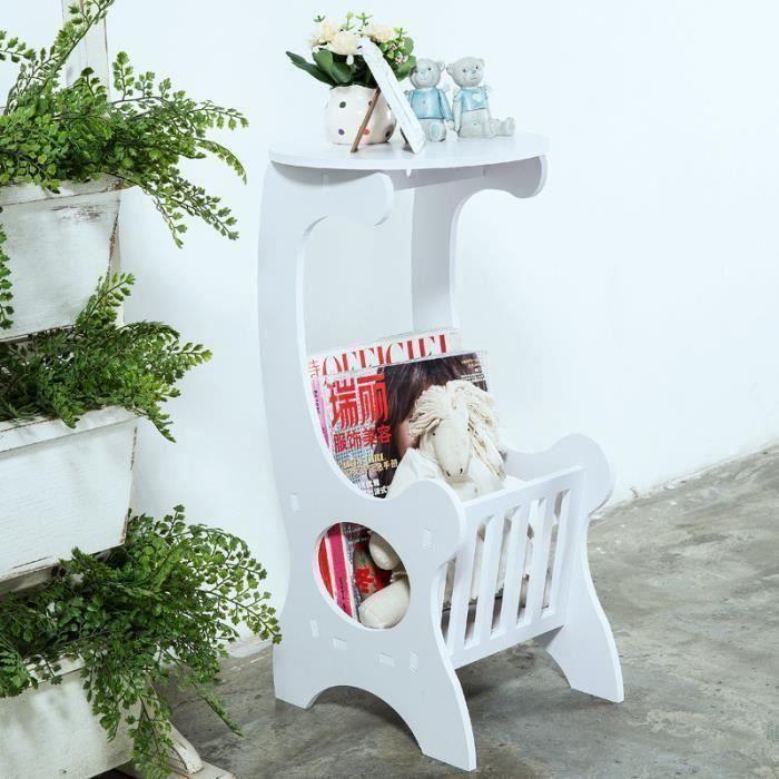 Table de cooisirs café porte-revues étagère petite table basse support de fleurs simple mode moderne co63237