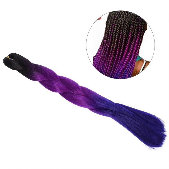 Tressage professionnel à haute température cheveux tresse torsadée colorée tresses de cheveux Extensions de cheveux parties de