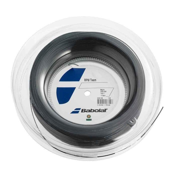 Bobine Babolat RPM TEAM 200m - Jauge 1.25