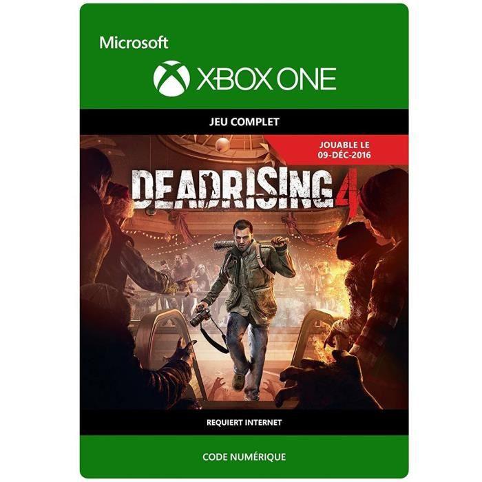 Dead Rising 4 Jeu Xbox One à télécharger
