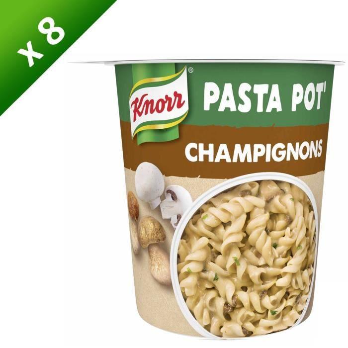 KNORR Pâtes Champignons - Lot de 8x 70 g