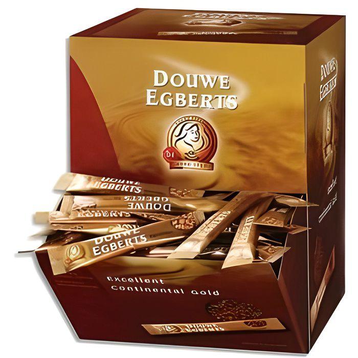 Boite de 200 stick de café Pure Gold lyophilisé 1,5g.
