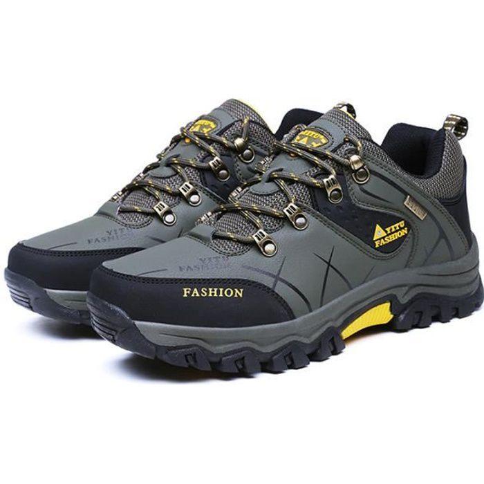 Chaussures de Randonnée Homme Run Masculines Respirante Chaussures