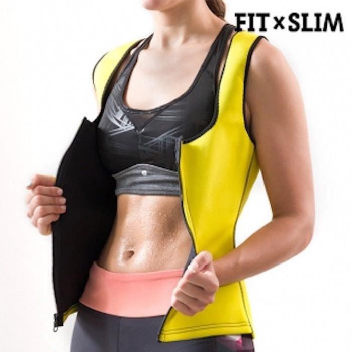 Fitness minceur Gilet de sport (XL) pour femme X-TRA SAUNA néoprène