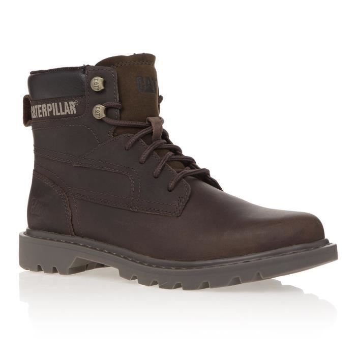 CATERPILLAR Bottines Cuir Bridgeport Homme - Miel