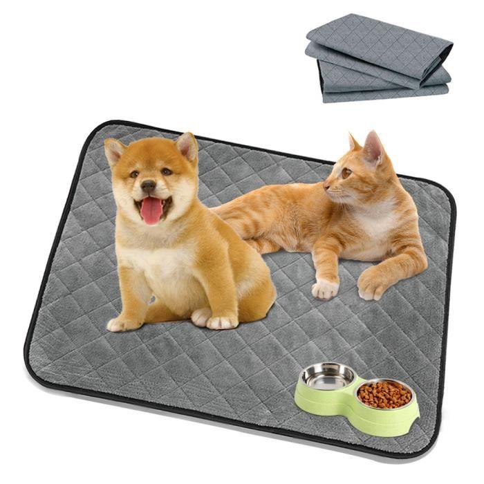 50 * 70 cm Réutilisable imperméable chiot chien chat pipi coussin de lit tapis urine pour animaux de compagnie