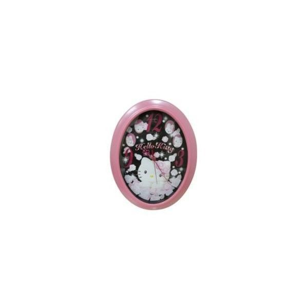 Horloge hello kitty ovale