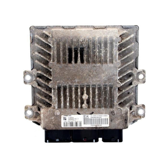 Calculateur Moteur ECU Citroen C5 II 04-08 Peugeot 407 04-10 2.0 HDI 5WS40377F-T 9663384280 9655534080 1942X1 1940ZR