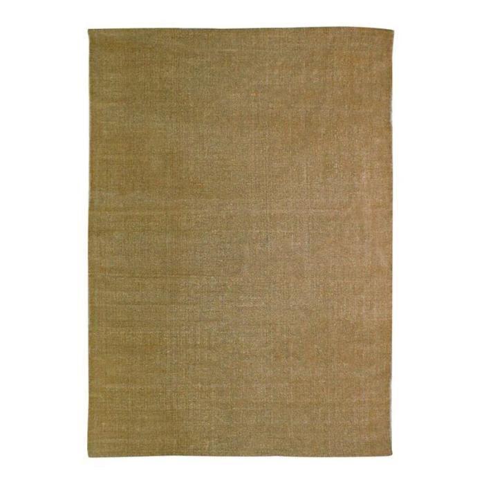 Tapis DUNES coton 120x170 beige naturel