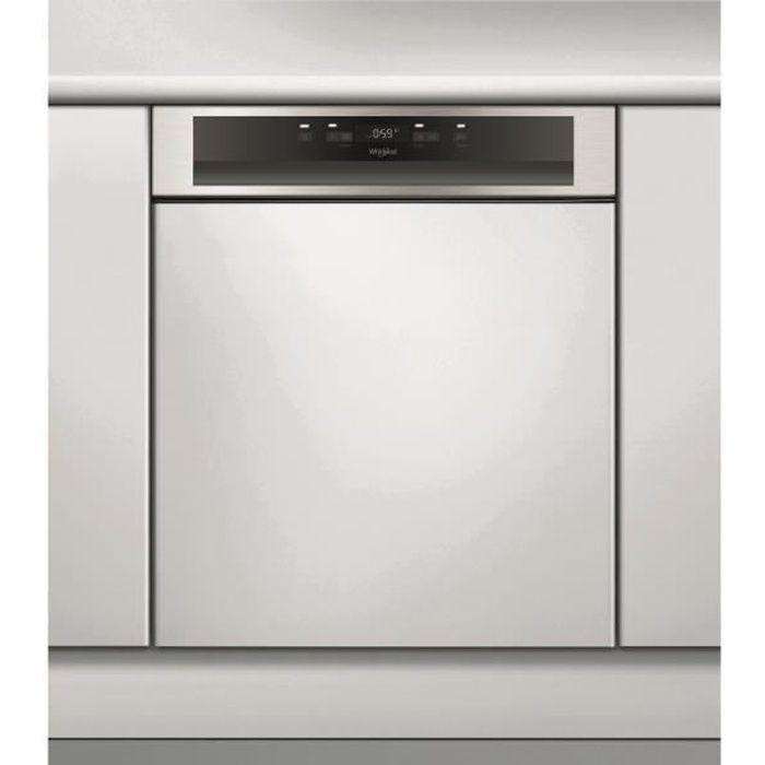 Lave-Vaisselle avec Bandeau WHIRLPOOL WBC3C33PX