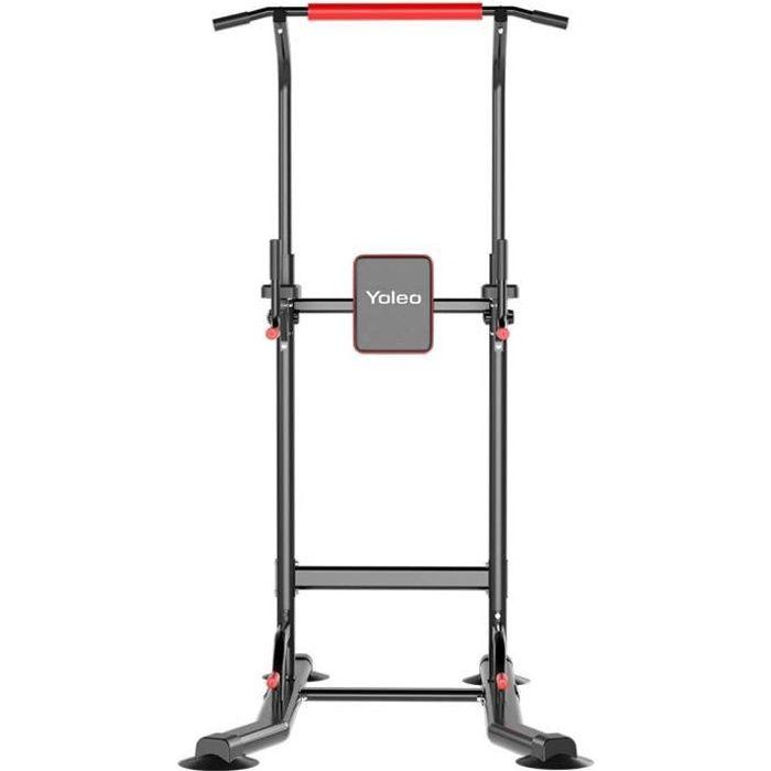 YOLEO Station de traction avec barres de pompes, Barre de Tractions, équipement de musculation à domicile