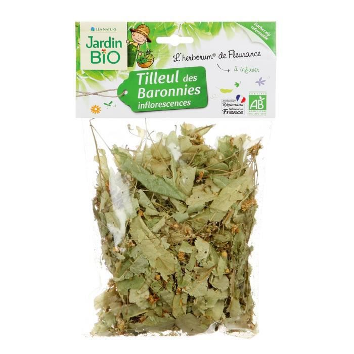 JARDIN BIO Tilleul inflorescences bio - 25 g