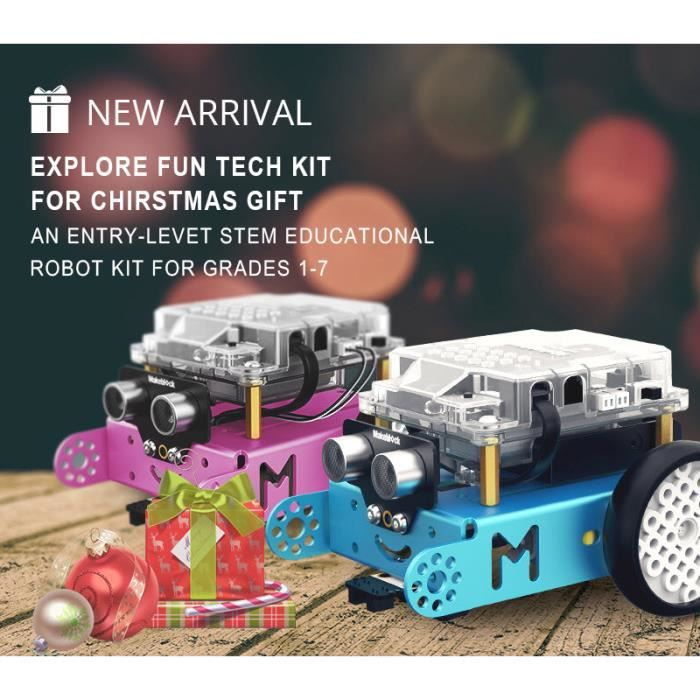 ROBOT - ANIMÉ ANIMÉ Makeblock MBot Améliorée Kit Robot educati