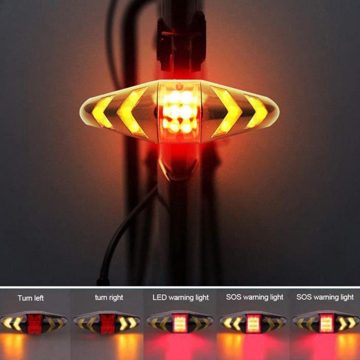 Rolson s//n DEL Clignotant Tête Lampe Réglable Clignotant Lampe de Poche Torche Phare