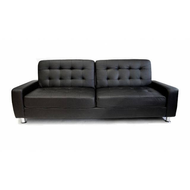 canape lit clic clac barcelone noir achat vente clic clac cdiscount. Black Bedroom Furniture Sets. Home Design Ideas