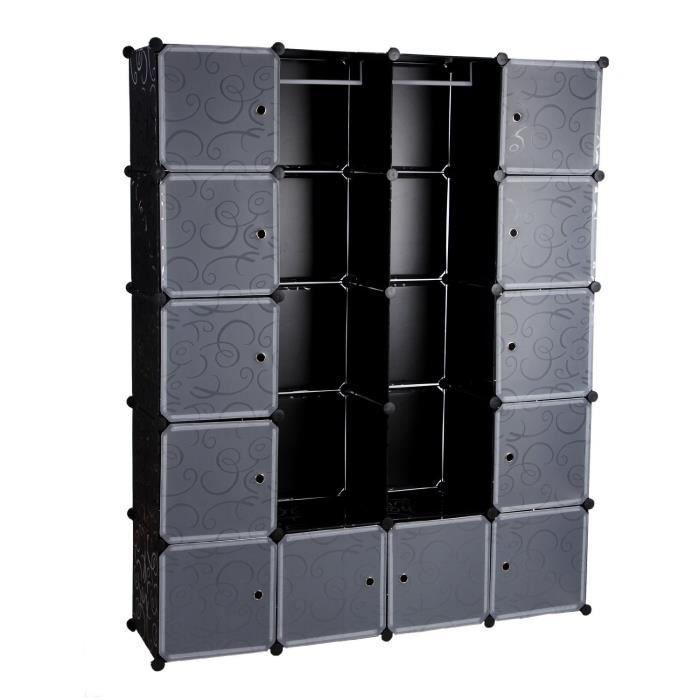 armoire rangement etagere penderie achat vente. Black Bedroom Furniture Sets. Home Design Ideas