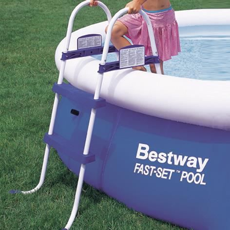 Bestway chelle de piscine jusque 76 cm 305366 achat for Echelle de piscine