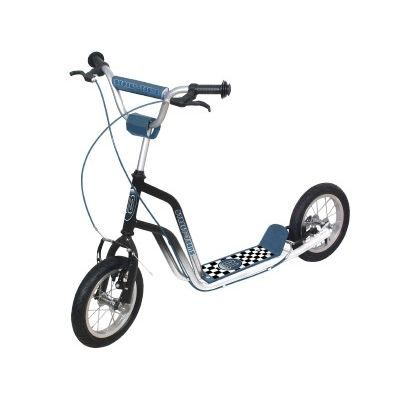 Roue gonflable trottinette