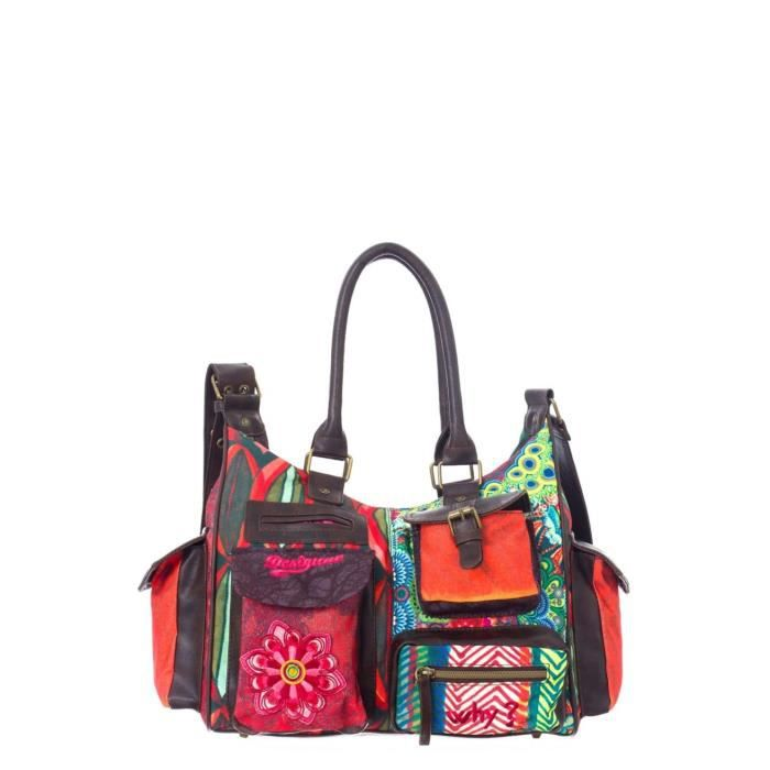 sac bandouliere desigual achat vente sac bandouliere. Black Bedroom Furniture Sets. Home Design Ideas
