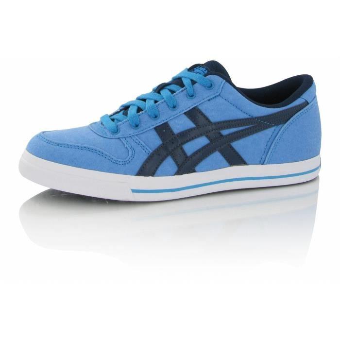 Chaussures Asics Aaron Canvas Bleu Bleu - Achat / Vente basket