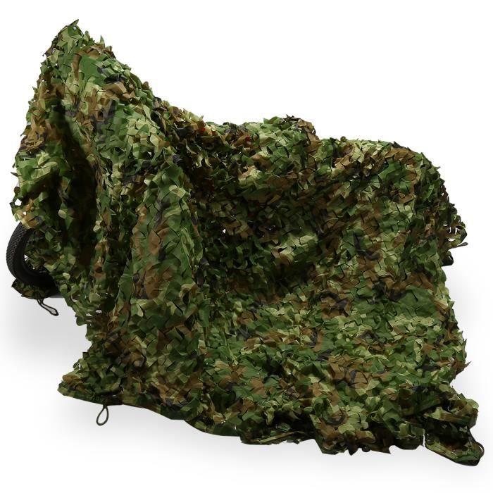 Filet De Camouflage Armée Jungle Camouflage 3m 5m Camping Hunting Militaire Chasse Soldat Pour Paintball Cs Jeu Prix Pas Cher Cdiscount