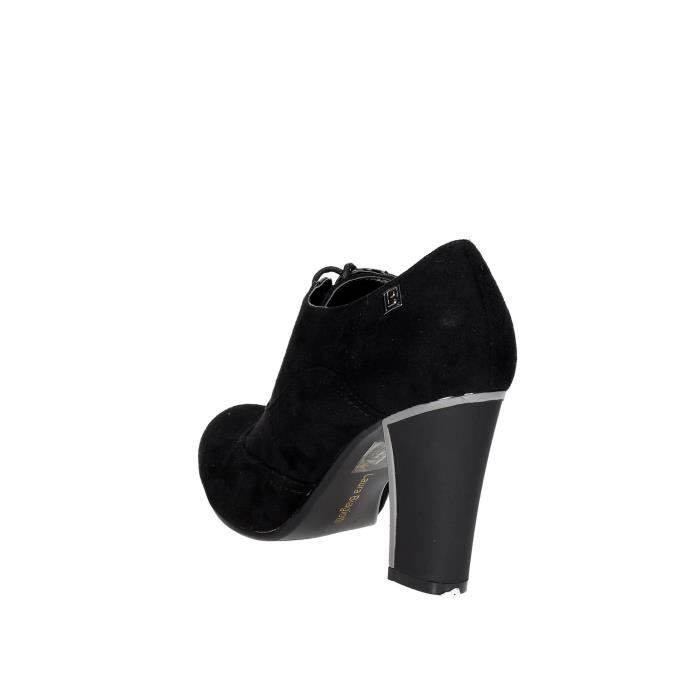 À Lacets Chaussures Laura 40 Biagiotti Noir Femme 6yq4yaF1xw