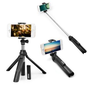 PERCHE - CANNE SELFIE 3 en 1 Perche Selfie Auto-portrait Manfrotto exten