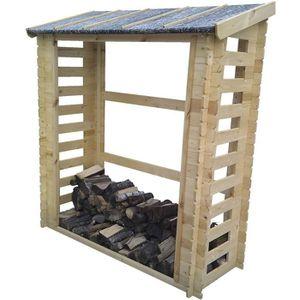 ABRI JARDIN - CHALET TIMBELA M201 Abri pour bois de chauffage- 180 x 70