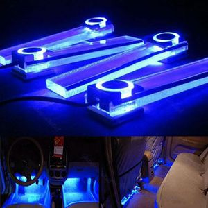 eclairage led interieur voiture bleu achat vente pas cher. Black Bedroom Furniture Sets. Home Design Ideas