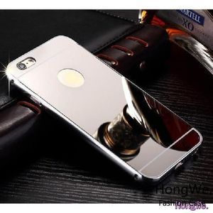 rongle r coque iphone 6 metal miroir argent coqu