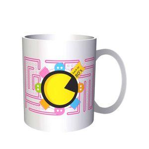 BOL 33 cl Tasse -Le jeu Pac Man Pac-man Retour à 80 33